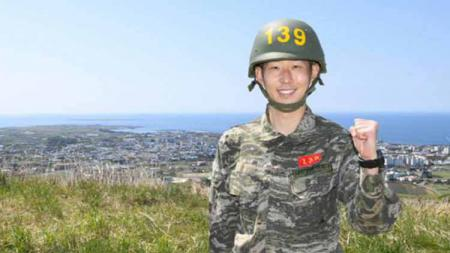 Klub Liga Inggris, Tottenham Hotspur, memberikan ucapan hangat kepada penggawanya, Son Heung-min, setelah menyelesaikan pelatihan militer di negaranya. - INDOSPORT