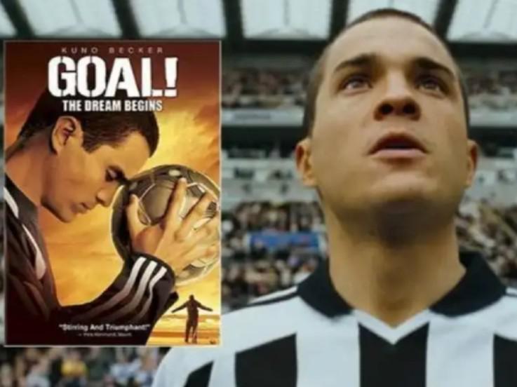 Santiago Munez di Newcastle United dalam film Goal. Copyright: SportBible