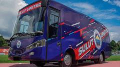 Indosport - Klub Liga 2 2020, Sulut United, belum lama ini meluncurkan bus barunya meskipun kompetisi terhenti. Rupanya, kendaraan operasional tersebut memiliki filosofi yang penuh dengan makna.