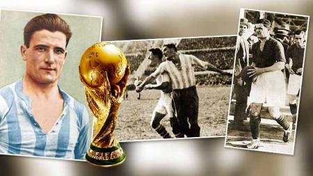 Kisah Luis Monti, main di 2 Final Piala Dunia dengan negara berbeda. - INDOSPORT