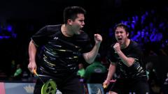Indosport - Pebulutangkis ganda putra Amerika Serikat Phillip Chew/Ryan Chew.