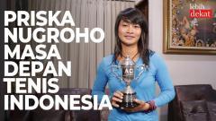 Indosport - Petenis muda Indonesia, Priska Madelyn Nugroho.