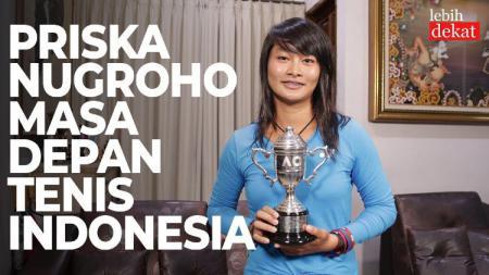 Petenis muda Indonesia, Priska Madelyn Nugroho. - INDOSPORT