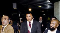 Indosport - Legenda tinju dunia (alm) Muhammad Ali.