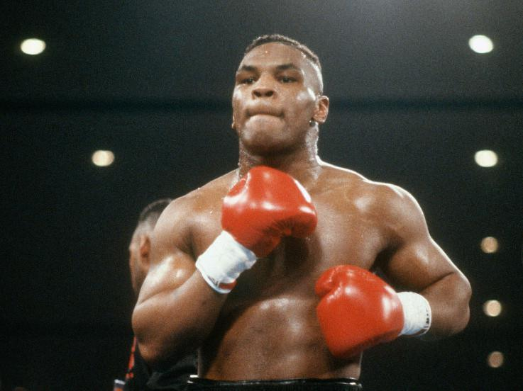 Legenda tinju Amerika Serikat Mike Tyson. Copyright: Focus on Sport/Getty Images