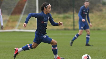 Charlie Wesbter, pemain muda milik klub Liga Inggris, Chelsea. - INDOSPORT