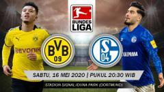 Indosport - Link live streaming pertandingan Bundesliga Jerman pekan ke-26 antara Borussia Dortmund vs Schalke 04.