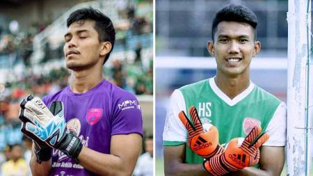 Berikut statistik antara Miswar Saputra dan Hilmansyah, dua kiper muda yang saling berebut posisi inti di klub Liga 1 PSM Makassar. - INDOSPORT
