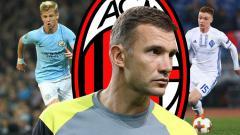 Indosport - Gembong Ukraina yang Bisa Dibawa Shevchenko ke AC Milan