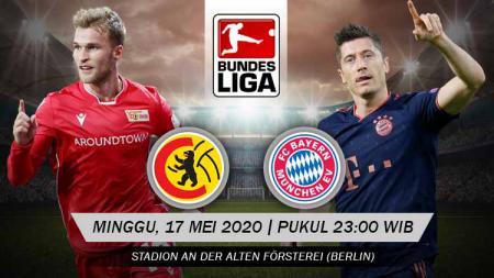 Bayern Munchen diprediksi bisa meraih kemenangan mudah saat harus bertandang ke markas Union Berlin di lanjutan Bundesliga Jerman, Minggu (17/05/20). - INDOSPORT