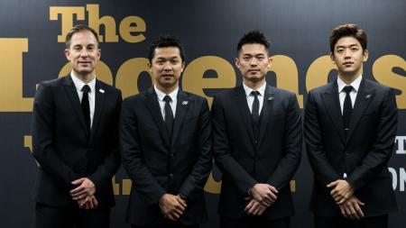 Peter Gade, Taufik Hidayat, Lin Dan, dan Lee Yong-dae - INDOSPORT