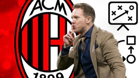 Pelatih berjuluk 'Mini Mourinho', Julian Nagelsmann, punya taktik andalan yang diyakini bisa membawa AC Milan menuju kejayaan. - INDOSPORT