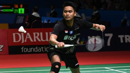 Tontowi Ahmad di Indonesia Open 2019. - INDOSPORT
