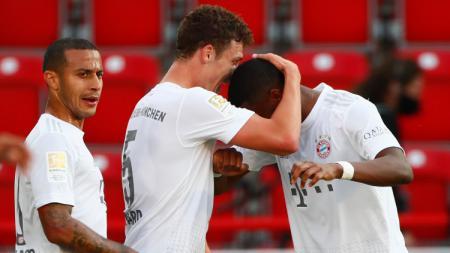Berikut klasemen sementara Bundesliga Jerman hingga pekan ke-26. Bayern Munchen belum tergoyahkan di puncak klasemen. - INDOSPORT