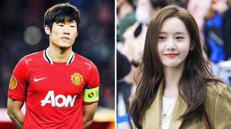 Pernah ajak Yoona SNSD berkencan, eks Manchester United, Park Ji Sung malah berjodoh dengan penyiar berita. - INDOSPORT
