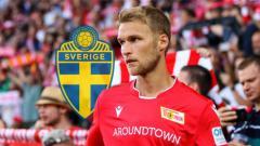 Indosport - Sebastian Andersson, Striker Union Berlin Rival Lewandowski di Daftar Top Skor Bundesliga