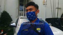 Indosport - Gelandang Persib Bandung, Abdul Azis.