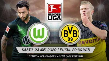 Berikut prediksi pertandingan antara Wolfsburg vs Borussia Dortmund dalam Bundesliga Jerman pekan ke-27, Sabtu (23/05/20) pukul 20.30 di Volkswagen Arena. - INDOSPORT