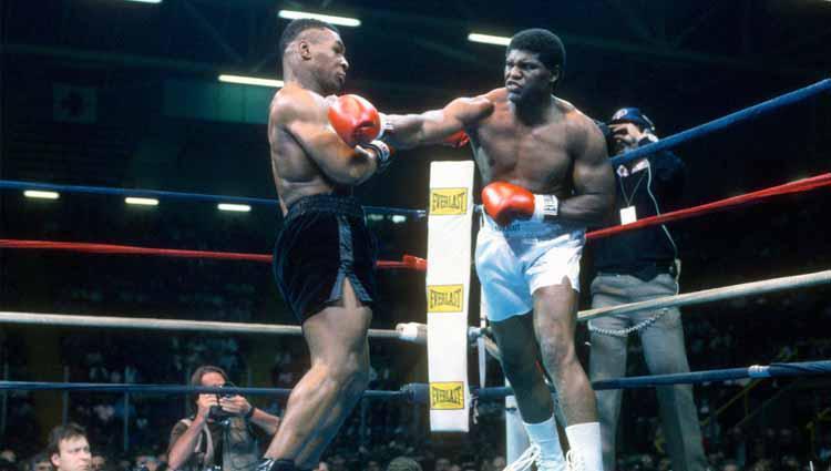 Mike Tyson vs James Tillis. Copyright: Focus on Sport/Getty Images