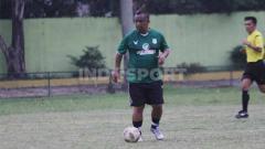 Indosport - Manajer PSMS Medan Liga 2 2020, Mulyadi Simatupang.