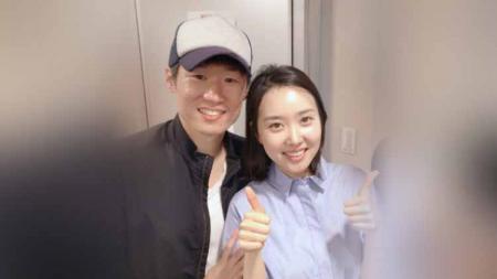 Cerita tentang eks pemain Manchester United, Park Ji Sung melamar istri tercintanya, Kim Min Ji secara romantis di sebuah museum di Korea Selatan - INDOSPORT