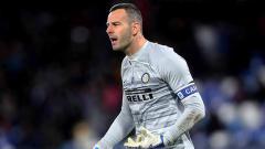 Indosport - Samir Handanovic kiper Inter Milan
