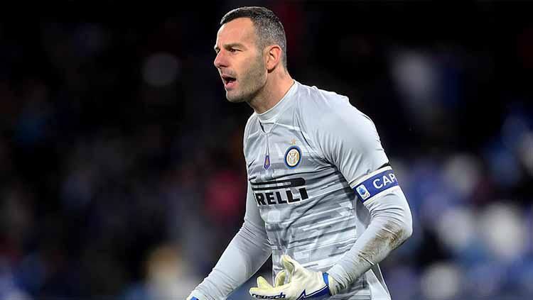 Samir Handanovic kiper Inter Milan Copyright: MB Media/Getty Images
