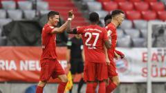 Indosport - Bundesliga Jerman telah memasuki pekan ke-30 dan Bayern Munchen semakin kokoh berada di puncak klasemen sementara.
