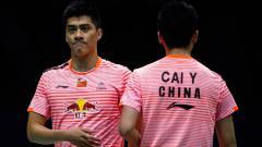 Indosport - Nama pasangan Cai Yun/Fu Haifeng tidak ada dalam daftar raja ganda putra oleh BWF, media China malah sindir pasangan Ineonsia, Kevin Sanjaya/Marcus Gideon,