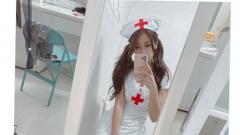 Indosport - Xu Yahui, suster cantik asal Taiwan yang gemar berolahraga.