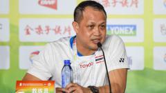 Indosport - Pelatih bulutangkis, Rexy Mainaky.