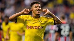 Indosport - Jadon Sancho kabarnya terbang ke Inggris tanpa seizin klubnya, Borussia Dortmund.