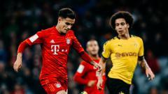 Indosport - Sebanyak 6 pemain Bundesliga Jerman ini bakal absen di laga panas antara Borussia Dortmund vs Bayern Munchen, Selasa (26/05/20) malam.