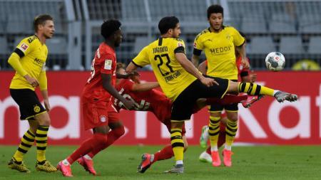 Terdapat 3 fakta menggegerkan di balik perkasanya Bayern Munchen kala mengalahkan Borussia Dortmund dengan skor 1-0, Selasa (26/05/20) kemarin. - INDOSPORT