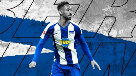 Pemain Hertha Berlin, Matheus Cunha. - INDOSPORT