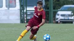 Indosport - Riccardo Calafiori, wonderkid AS Roma yang memikat hati Manchester United.