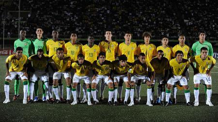 Skuat Timnas Brasil U-17 di Piala Dunia 2009, Nigeria. - INDOSPORT
