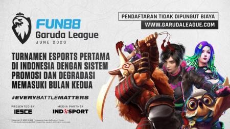 Garuda League adalah kompetisi esports jangka panjang berskala besar pertama di Indonesia dengan sistem promosi dan degradasi. - INDOSPORT