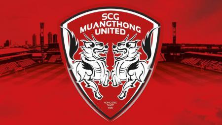 Logo klub Thailand Muangthong United. - INDOSPORT