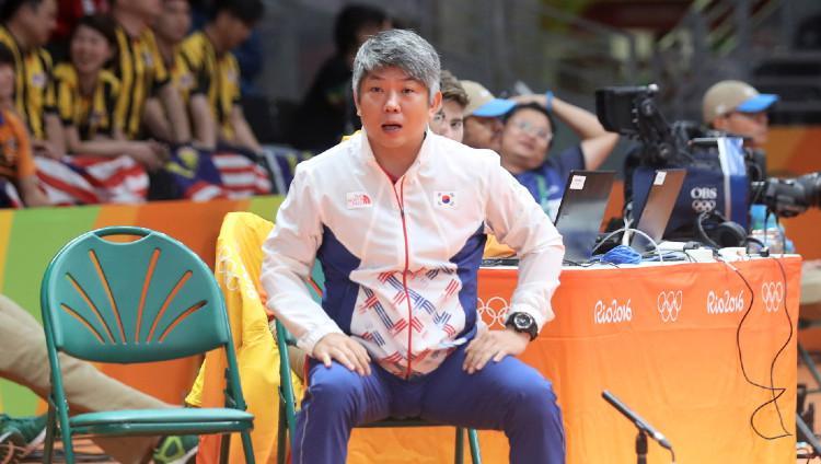 Pelatih bulutangkis Korea Selatan Kang Kyung-jin. Copyright: Badminton Photo/bwfbadminton.com