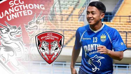 Komisaris PT Persib Bandung Bermartabat (PBB), Umuh Muchtar, sudah mendengar kabar Febri Hariyadi yang dikaitkan dengan tim asal Thailand, Muangthong United. - INDOSPORT