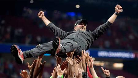 Jurgen Klopp tetap percaya diri bertahan sebagai pelatih Liverpool. - INDOSPORT