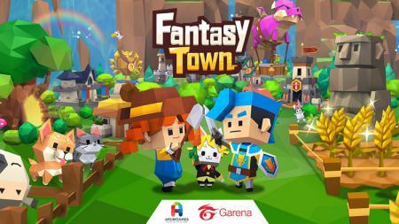 Perusahaan Garena akan merilis game unik bertajuk Fantasy Town pada akhir Juni mendatang. - INDOSPORT