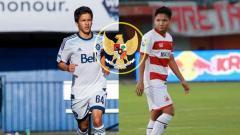 Indosport - Thomas Gardner dan Syahrian Abimanyu, kedua nama itu suatu saat nanti mungkin saja berduet mengisi lini tengah timnas Indonesia.