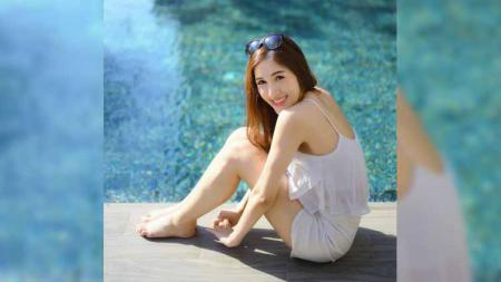 Lertsiri Thosingha merupakan wanita cantik asal Thailand yang berkarier sebagai founder sebuah perusahaan event organizer (EO). - INDOSPORT