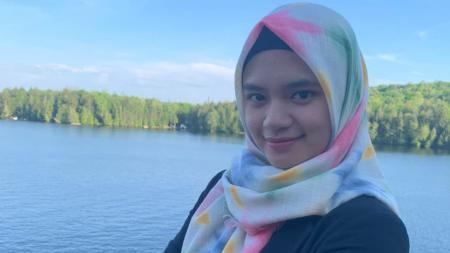 Alumni PB Djarum sekaligus eks pemain tunggal putri pelatnas, Ghaida Nurul Ghaniyu angkat suara soal rencana kembali lagi ke Indonesia. - INDOSPORT