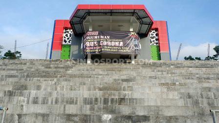 Lapangan ini sempat menjadi tempat training center klub Liga 2, Badak Lampung.