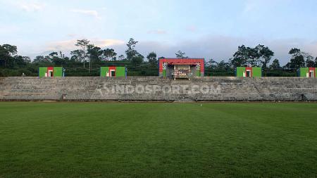 Pembangunan Stadion Kebo Giro Boyolali. - INDOSPORT