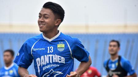 Winger Persib Bandung Febri Hariyadi layak menjadi best player Piala Menpora usa akhir babak penyisihan grup. - INDOSPORT