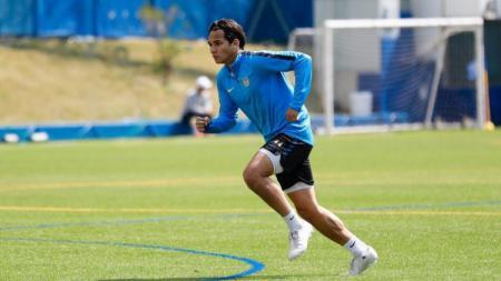 Stefan Antonic masih memendam harapan besar kembali dipanggil untuk mengikuti pemusatan latihan (TC) Timnas Indonesia U-19. - INDOSPORT